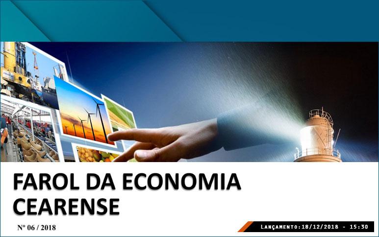 Ipece disponibiliza novo número do boletim Farol da Economia Cearense
