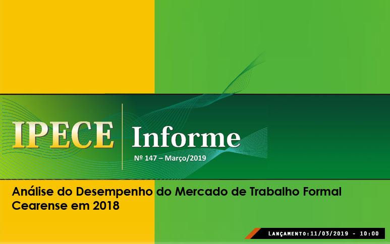 Ceará cria 23 mil empregos com carteira assinada em 2018: oitavo melhor desempenho do Brasil