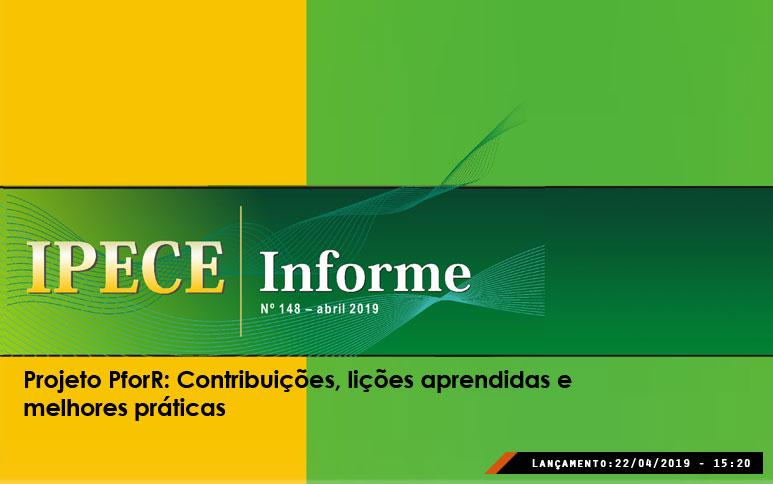 Publicação do Ipece analisa projeto PforR Ceará