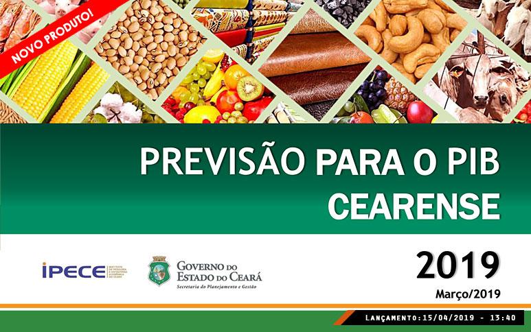 Ipece prevê taxa de 2% para o PIB do Ceará em 2019 e passa a publicar análise trimestral para o índice