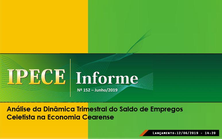 Emprego com carteira assinada no Ceará tem queda de 7,7 mil vagas no 1º trimestre de 2019