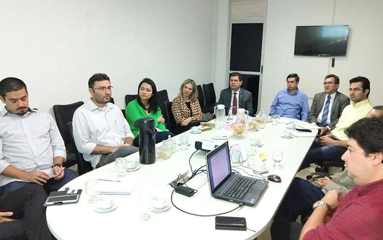 Secretária de Planejamento do RS e presidente do Instituto de Pesquisa do MA conhecem trabalho do Ipece
