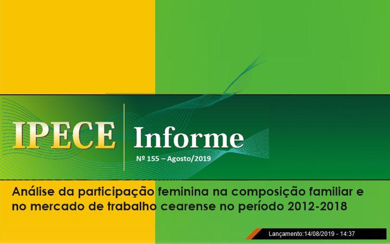 Número de lares chefiados por mulheres no Ceará cresce de 37,5% para 47,1% de 2012 para 2018