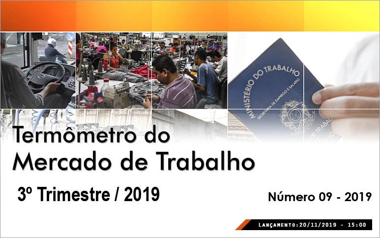 Desemprego no Ceará aumenta no 3º trimestre de 2019 em relação a igual período do ano passado