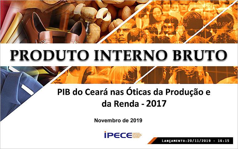 Participação do Ceará no PIB nacional cresce e é o maior da série histórica iniciada em 2002