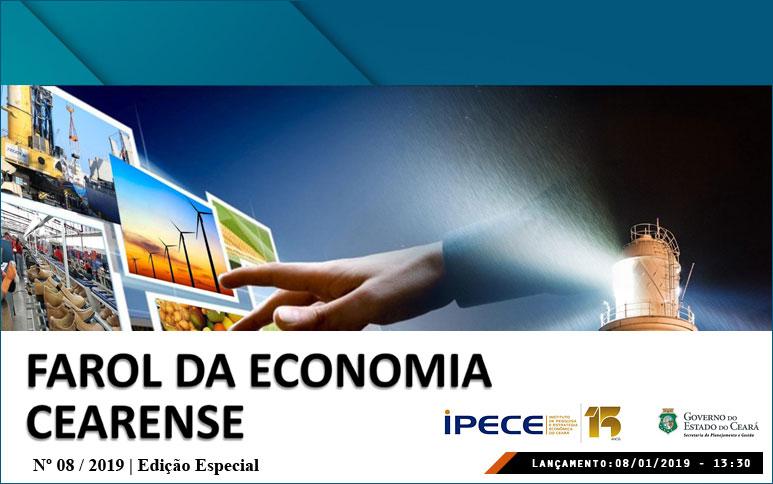 Expectativas para a economia cearense em 2020 são positivas, revela estudo do Ipece