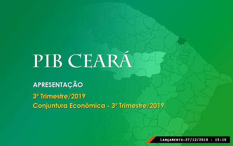 PIB do Ceará cresce 1,87% no 3º trimestre de 2019, bem acima do desempenho nacional, de 1,2%