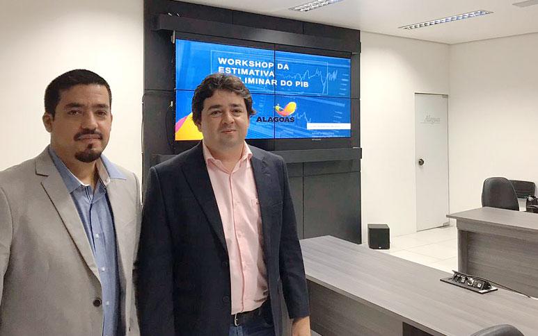 Ipece leva ao governo de Alagoas experiência na produção de estimativas trimestrais do PIB