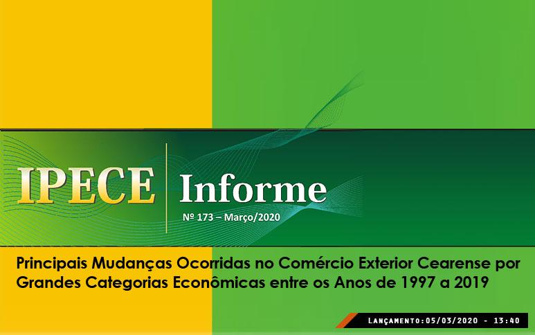 Bens intermediários lideram exportações do Ceará em 2019