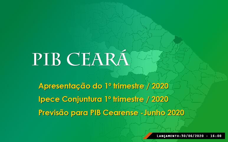PIB cearense cai 0,45% no 1º trimestre, mas queda da economia estadual deve ser menor que a do Brasil em 2020