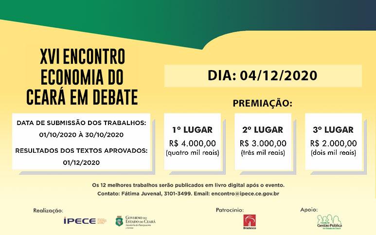 XVI Encontro Economia do Ceará em Debate