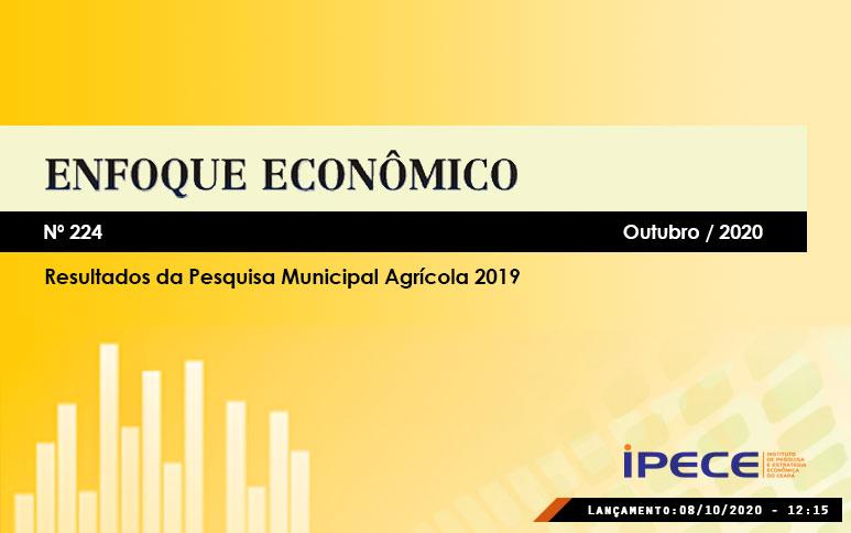 Em 2019, valor da produção agrícola do Ceará cresce 8,3% em relação a 2018