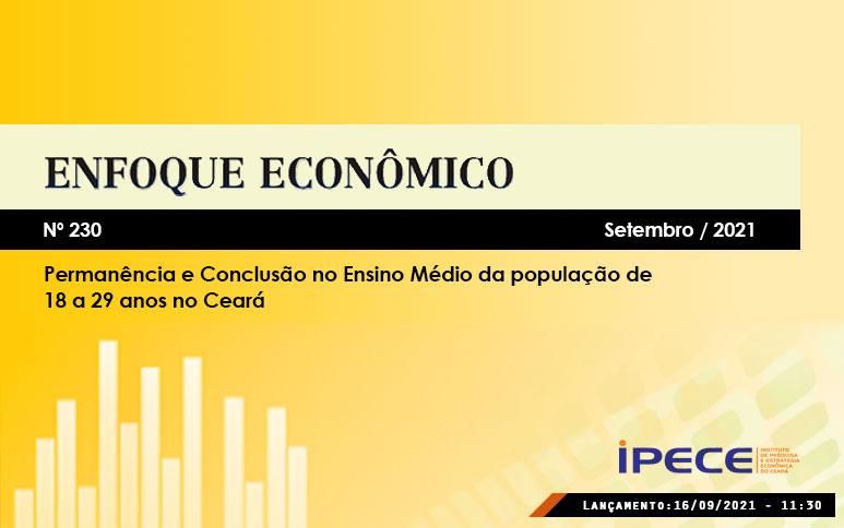 Ceará tem maior crescimento dos últimos dez anos na proporção de jovens que concluiu o ensino médio