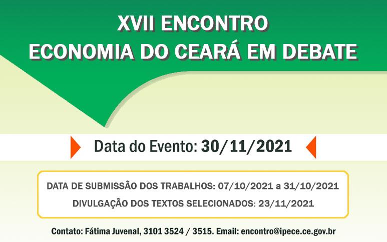 XVII Encontro Economia do Ceará em Debate